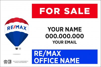 Groovy Re Max Real Estate Signs And Services Home Interior And Landscaping Fragforummapetitesourisinfo